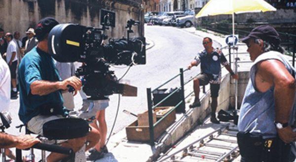 Filming in Malta